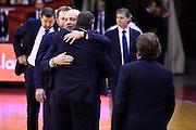 Massimiliano Menetti<br /> Grissin Bon Pallacanestro Reggio Emilia - Betaland Capo d' Orlando<br /> Lega Basket Serie A 2016/2017<br /> Reggio Emilia, 05/12/2016<br /> Foto Ciamillo-Castoria