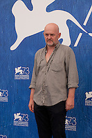 Actor Valentin Ganev at the King Of The Belgians film photocall at the 73rd Venice Film Festival, Sala Grande on Saturday September 3rd 2016, Venice Lido, Italy. Photography: Doreen Kennedy