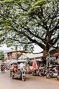 Local market in Kumphawapi village, Udon Thani