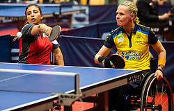 TABIB Caroline Odaia (ISR) and AHLQUIST Anna-carin (SWE) during Team events at Day 4 of 16th Slovenia Open - Thermana Lasko 2019 Table Tennis for the Disabled, on May 11, 2019, in Dvorana Tri Lilije, Lasko, Slovenia. Photo by Vid Ponikvar / Sportida