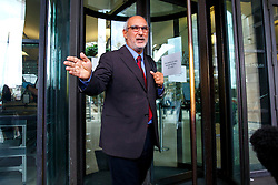**Alan Yentob has resigned as BBC Creative Director** © Licensed to London News Pictures. 15/10/2015. London, UK. Alan Yentob leaving Portcullis House after giving evidence on Kids Company to the Commons Public Administration Committee in London on Thursday, 15 October 2015. Photo credit: Tolga Akmen/LNP