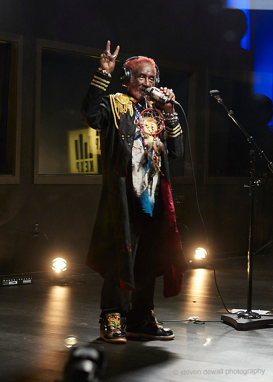 Lee Scratch Perry performing live at KEXP after his performance in Seattle, WA. on September 20th, 2016.