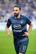 Adil Rami (FRA) during the UEFA Nations League, League A, Group 1 football match between France and Netherlands on September 9, 2018 at Stade de France stadium in Saint-Denis near Paris, France - Photo Stephane Allaman / ProSportsImages / DPPI