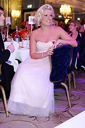 NATALIE COYLE at Fashion For The Brave at The Dorchester, Park Lane, London on 8th November 2013.