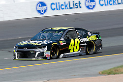 July 21, 2018 - Loudon, NH, U.S. - LOUDON, NH - JULY 21: Jimmie Johnson, Monster Energy NASCAR Cup Series driver of the Lowe's For Pros Chevrolet (48), during practice for the Foxwoods Resort Casino 301 on July 21, 2018, at New Hampshire Motor Speedway in Loudon, New Hampshire. (Photo by Fred Kfoury III/Icon Sportswire) (Credit Image: © Fred Kfoury Iii/Icon SMI via ZUMA Press)