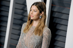 Jessica Biel arrives at the 2016 Vanity Fair Oscar Party Hosted By Graydon Carter at Wallis Annenberg Center for the Performing Arts on February 28, 2016 in Beverly Hills, California. EXPA Pictures © 2016, PhotoCredit: EXPA/ Photoshot/ Dennis Van Tine<br />