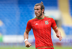 CARDIFF, WALES - Friday, June 5, 2015: Wales' Gareth Bale during a practice match at the Cardiff City Stadium ahead of the UEFA Euro 2016 Qualifying Round Group B match against Belgium. (Pic by David Rawcliffe/Propaganda)