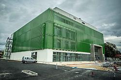 "Final phase of building of new Slovenian gymnastics centre ""Gimnasticni center Cerar-Pegan-Petkovsek"", on October 4, 2015 in Ljubljana, Slovenia. Photo by Vid Ponikvar / Sportida"