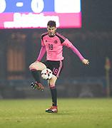 Scotland's Alex Iacovitti - Scotland under 21s v Estonia international challenge match at St Mirren Park, St Mirren. Pic David Young<br />  <br /> - © David Young - www.davidyoungphoto.co.uk - email: davidyoungphoto@gmail.com