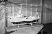 07/05/1965<br /> 05/07/1965<br /> 07 May 1965<br /> Interiors and exteriors of B.I.M. Pavilion at the RDS Spring Show at the Royal Dublin Society, Ballsbridge, Dublin. Pictured is a model of a fishing trawler that was part of the exhibit.