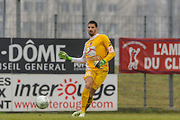 Mehdi JEANNIN - 24.01.2015 - Clermont / Chateauroux  - 21eme journee de Ligue2<br />