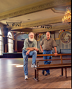 Mike and Brian McMenamin, founders of McMenamin's