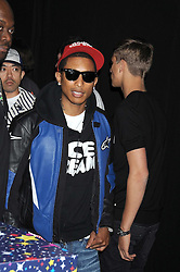 PHARRELL WILLIAMS at a party to celebrate the launch of Billionaire Boys Club Ice Cream Season 7 at Harvey Nichols, Knightsbridge, London on 18th June 2008.<br />
