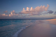Sunset on the beach at Shoal Bay East;  Anguilla, British West Indies