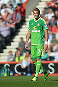Sunderland AFC midfielder Ola Toivonen during the Barclays Premier League match between Bournemouth and Sunderland at the Goldsands Stadium, Bournemouth, England on 19 September 2015. Photo by Mark Davies.