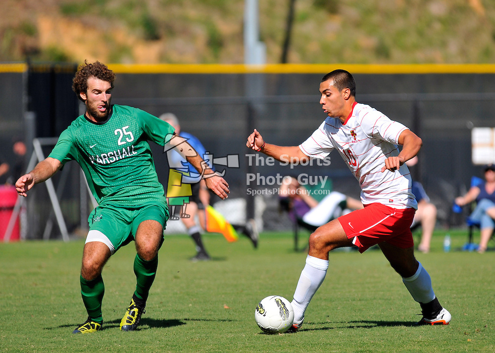 Marshall blanks VMI Men's Soccer 7-0