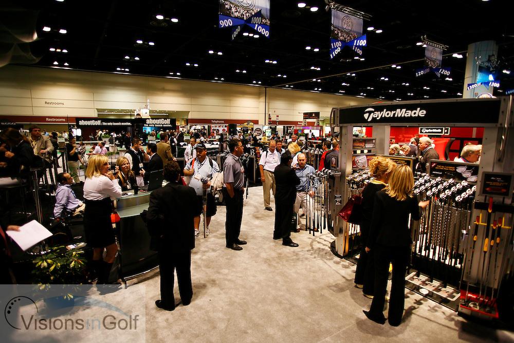 The PGA Merchandise Show 2007, Orlando, Florida, USA. 240107 <br /> Picture Credit: Mark Newcombe / visionsingolf.com