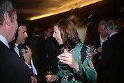 Lord Coe and Amanda Platell. 'Dirty politics, Dirty times: My fight with Wapping and New Labour' by Michael Ashcroft. Book launch party in aid of Crimestoppers. Riverbank Plaza Hotel. London SE1.      October 10 2005. ONE TIME USE ONLY - DO NOT ARCHIVE © Copyright Photograph by Dafydd Jones 66 Stockwell Park Rd. London SW9 0DA Tel 020 7733 0108 www.dafjones.com