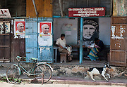 Local party office, Fort Cochin, Kerala, India