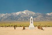 Image from Manazanar Relocation Facility, Manazanar National Historic Site, near Lone Pine, California, USA.