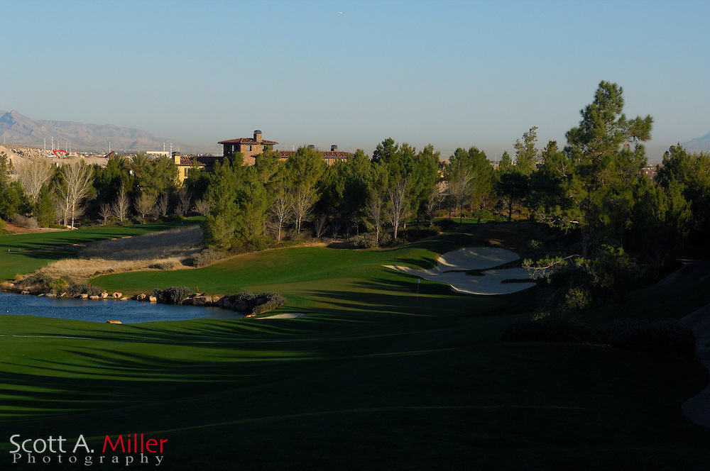 Southern Highlands Golf Club Hole No. 1..                ©2006 Scott A. Miller