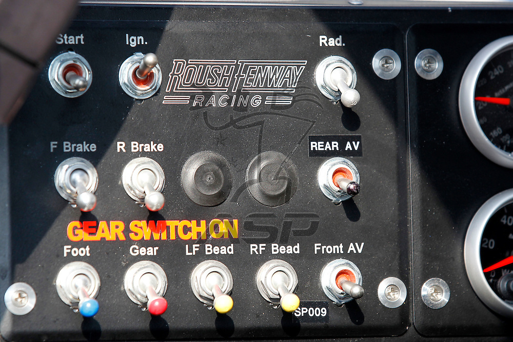 Joliet, IL - June 03, 2011: Carl Edwards (60) during practice for the STP 300 race at the Chicagoland Speedway in Joliet, IL.