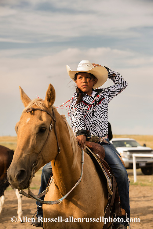 Rocky Boy Rodeo-kids-Indians-Rocky Boy Reservation-Montana