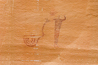 Buckhorn Wash barrier style pictographs, San Rafael Swell Utah