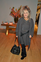 Fashion designer ELIZABETH EMANUEL at a party to celebrate the publication of Holding by Graham Norton held at Liberty, Regent Street, London on 12th October 2016.