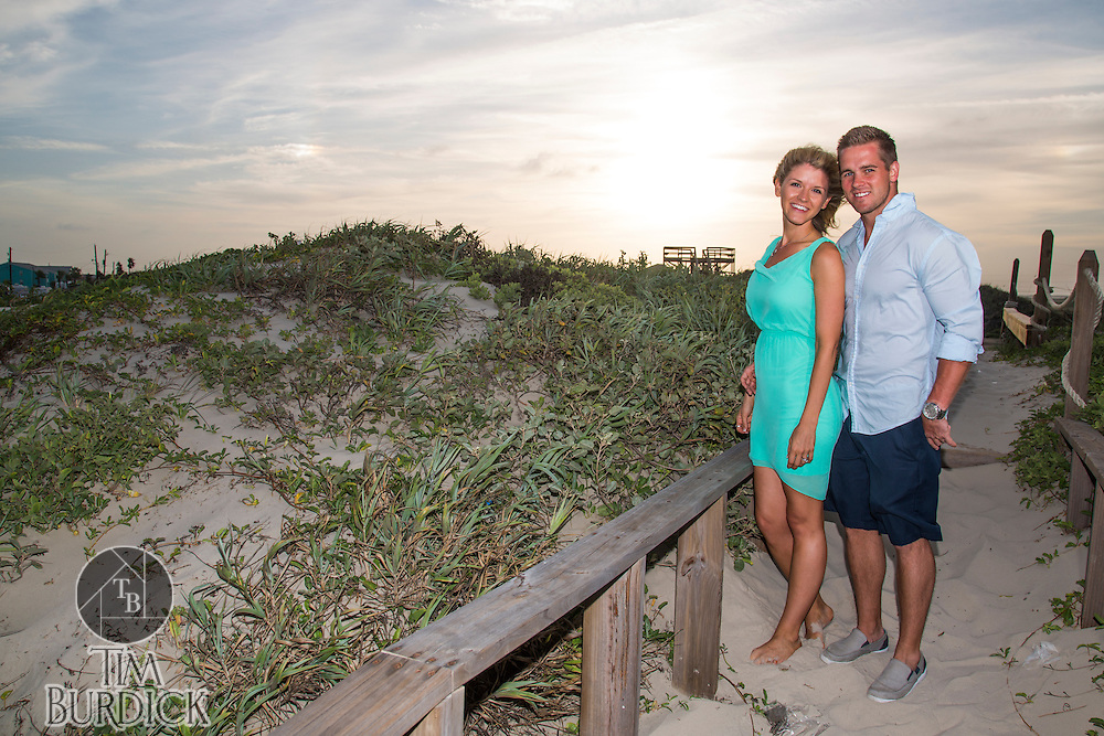 Couples portrait session by Tim Burdick Photography in Port Aransas, Texas