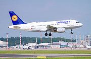 Lufthansa Airbus A319-114 (D-AILE) at Malpensa (MXP / LIMC), Milan, Italy