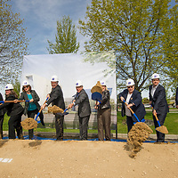 Center for Fine Arts Groundbreaking