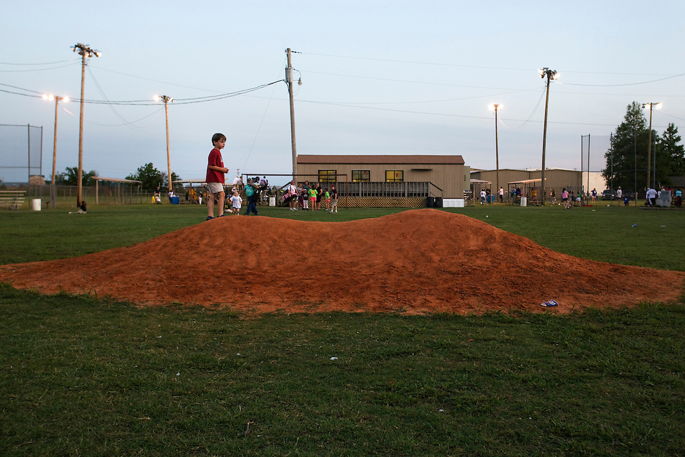 Little league baseball in Clarksdale, Miss., 2007.