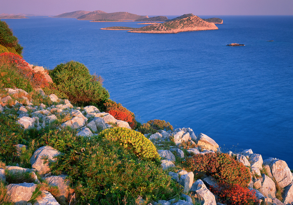 Kornati National Park, Mana Island, view south