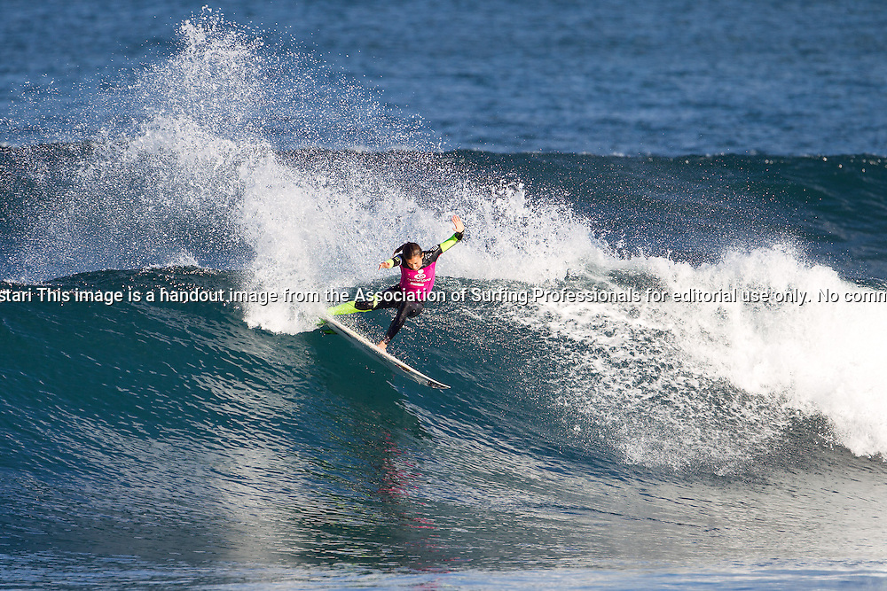 Sally Fitzgibbons of Gerroa, New South Wales, Australia (pictured), advanced into the Quarterfinals of the Womens Ripcurl Pro Bells Beach, defeating Courtney Conlogue (USA) and Nikki Van Dijk (AUS) in Round 3 at Rincon, Bells Beach today.