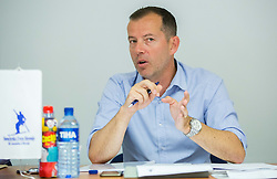 Enzo Smrekar during meeting of Executive Committee of Ski Association of Slovenia (SZS) on June 16, 2015 in Ljubljana, Slovenia. Photo by Vid Ponikvar / Sportida