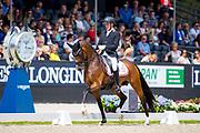 Jan Moller Christensen<br /> Longines FEI/WBFSH World Breeding Dressage Championships for Young Horses 2017<br /> © DigiShots