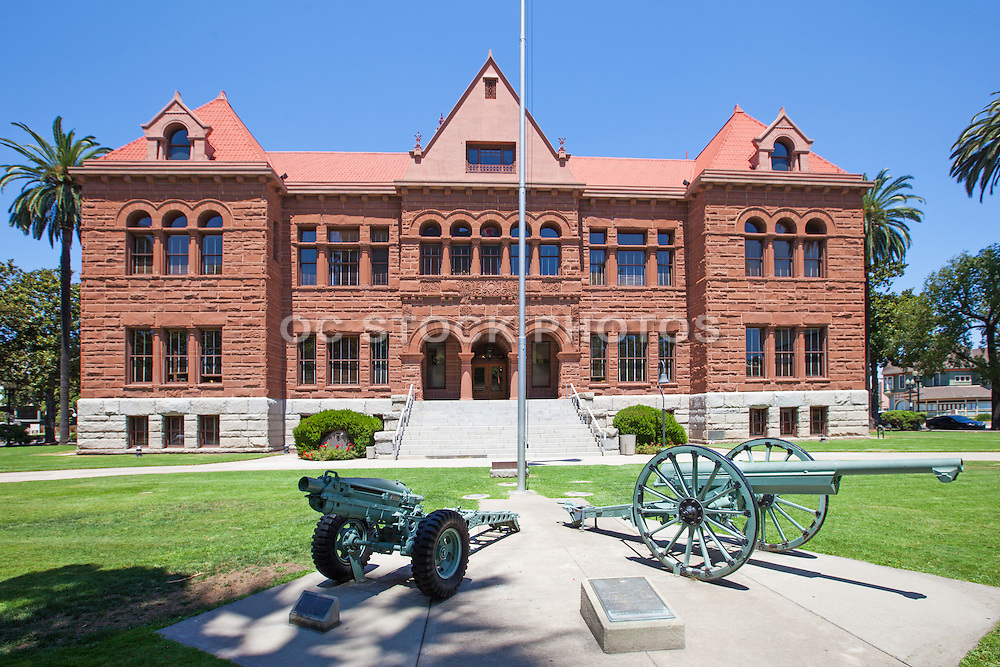 Old Orange County Courthouse in Santa Ana