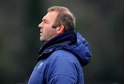 Bristol Bears Academy head coach Mike Hall leads the warm up session- Mandatory by-line: Nizaam Jones/JMP- 05/01/2019 - RUGBY - North Bristol RFC - Bristol, England - Bristol Academy U18 v Exeter Chiefs U18-U18 Academy League