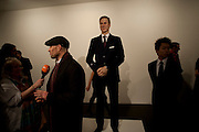 PRINCE WILLIAM WAXWORK, 'Engagement' exhibition of work by Jennifer Rubell. Stephen Friedman Gallery. London. 7 February 2011. -DO NOT ARCHIVE-© Copyright Photograph by Dafydd Jones. 248 Clapham Rd. London SW9 0PZ. Tel 0207 820 0771. www.dafjones.com.
