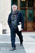 Roma 16 Marzo2013.Montecitorio, secondo giorno della  XVII legislatura..Giorgio Airaudo, deputato Sinistra Ecologia Libertà.