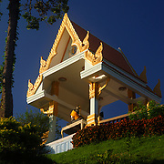 Thai temple and shrine, Prachuap, thailand.