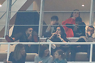 011318 Georgina Rodriguez watches his boyfirend, Cristiano Ronaldo play in Madrid