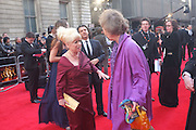 BARBARA WINDSOR; MARCIA WARREN, Olivier Awards 2012, Royal Opera House, Covent Garde. London.  15 April 2012.