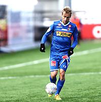 Fotball ,  OBOS-Ligaen<br /> 07.04.19<br /> Nammo Stadion<br /> Raufoss v Sandefjord  0-2<br /> Foto :  Dagfinn Limoseth , Digitalsport<br /> Lars Pontus Engblom , Sandefjord