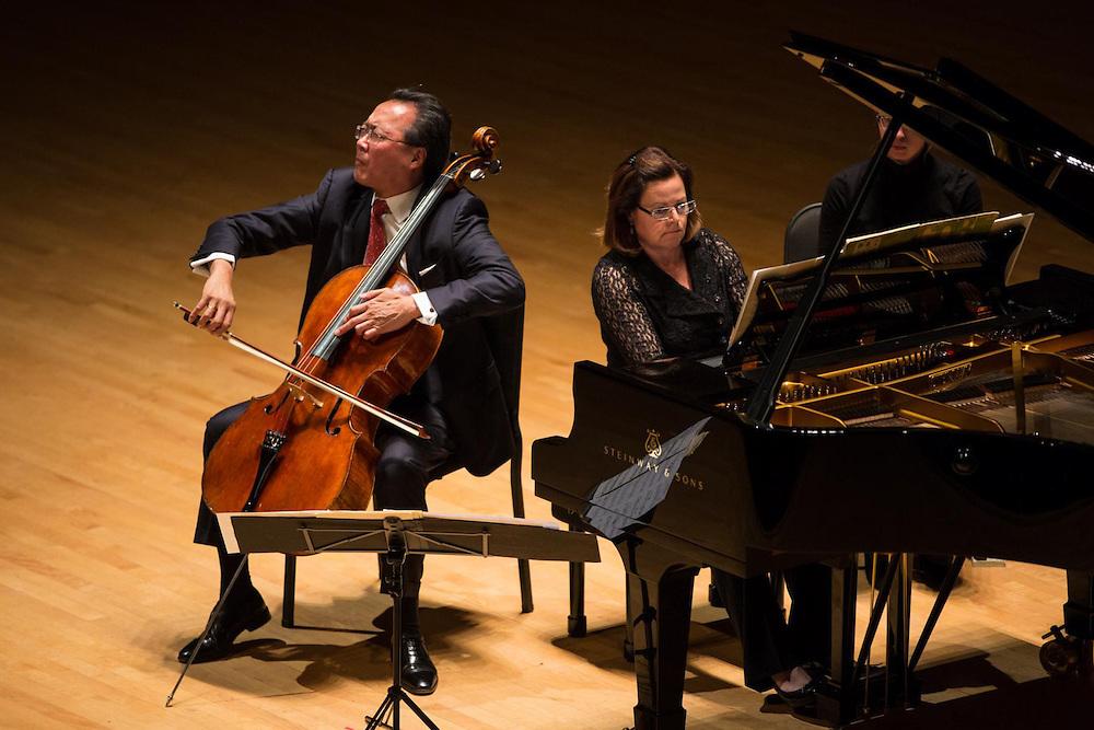 Yo-Yo Ma and Kathryn Stott, Symphony Hall, Boston