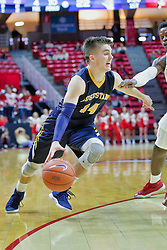 NORMAL, IL - November 03: Nolan Ebel during a college basketball game between the ISU Redbirds  and the Augustana Vikings on November 03 2018 at Redbird Arena in Normal, IL. (Photo by Alan Look)