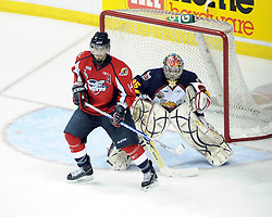 Adam Henrique of the Windsor Spitfires in Game 3 of the Rogers OHL Championship Series in Windsor on Sunday May 2. Photo by Aaron Bell/OHL Images