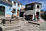 Street scene in Potosi, Bolivia