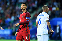 Cristiano Ronaldo Portugal, Ragnar Sigurdsson Iceland <br /> Saint-Etienne 14-06-2016 Stadium Geoffroy-Guichard Football Euro2016 Portugal-Iceland / Portogallo-Islanda Group Stage Group F<br /> Foto Massimo Insabato / Insidefoto